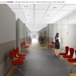 wizualizacja 2 korytarz przyziemie
